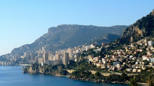 Aussicht auf Monaco