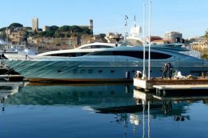 Yachten im Hafen von Cannes