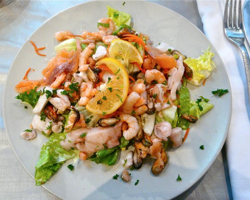Meeresfrüchte-salat