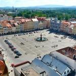 Rathausplatz von Budweis