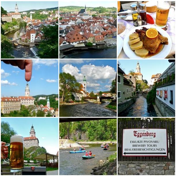 Impressionen von Krumau (Český Krumlov)
