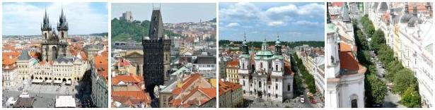 Rund um den Altstädter Ring in Prag