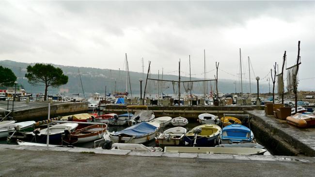 Hafen von Volosko