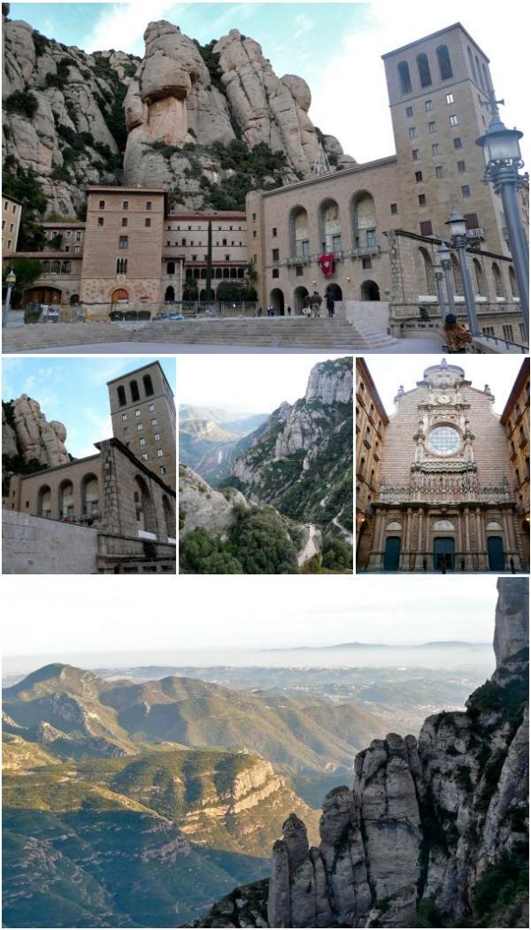 Ansichten rund um Montserrat