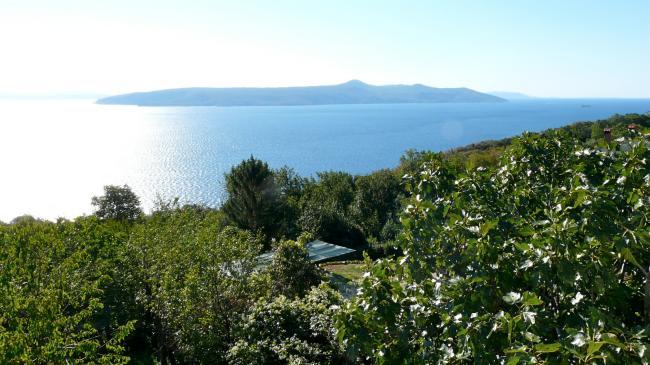 Aussicht auf die Insel Cres