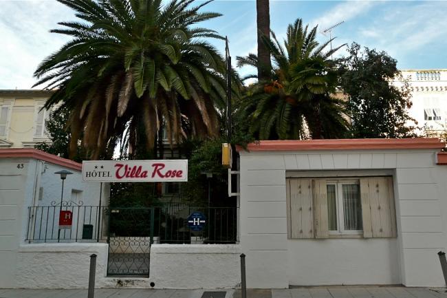 Hotel Villa Rose in Nizza