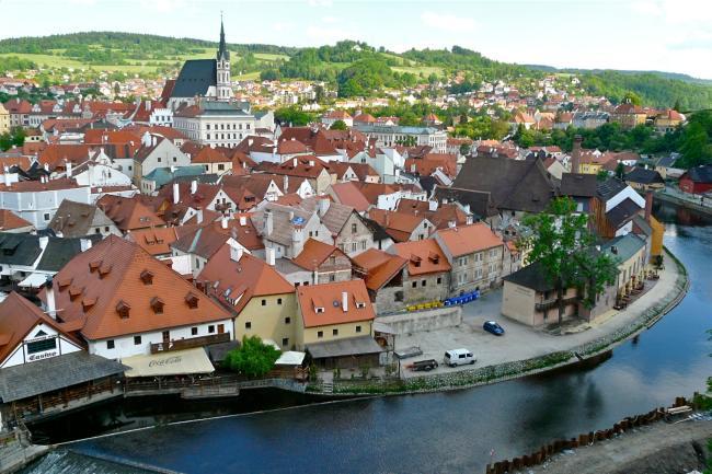 Altstadt von Krumau an der Moldau
