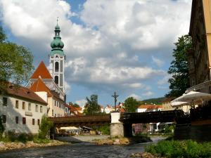 Kirche St. Veit in Cesky Krumlov