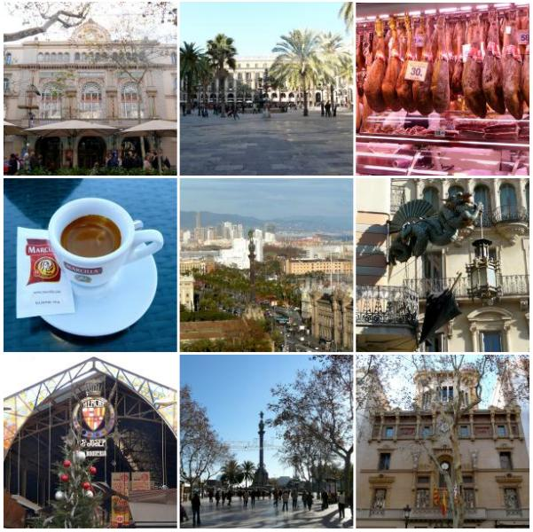 Sehenswürdigkeiten entlang La Rambla in Barcelona