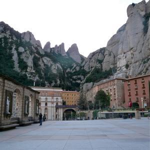 Teil des Klosters Montserrat