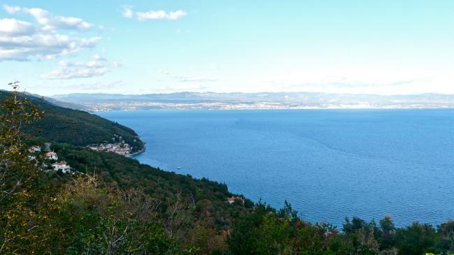 Aussicht von Mošćenice