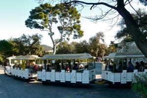 Sightseeing-Bahn in Nizza