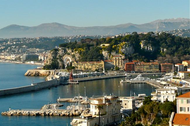 Port de Nice in Nizza