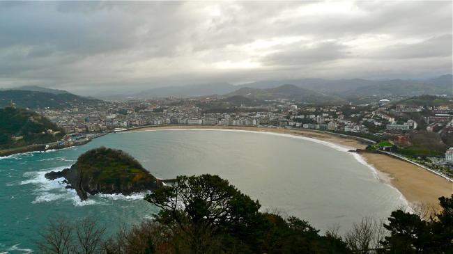 La Concha von San Sebastián