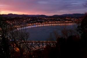 Sonnenaufgang in San Sebastian
