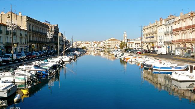 Grand Canal von Sète
