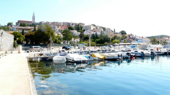 Am Hafen von Vrsar