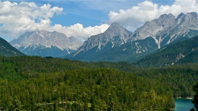 Zugspitze aus österreichischer Sicht
