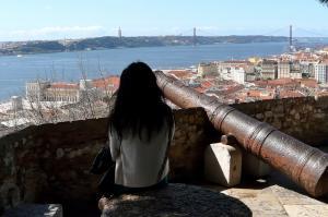 Aussicht vom Castelo de Sao Jorge