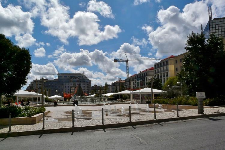 Martim Moniz in Lissabon