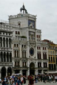 Markusplatz Torre dell`Orologio
