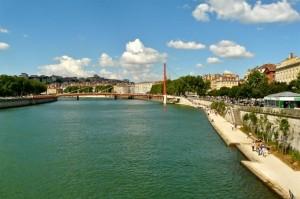 Altstadt von Lyon an der Saone