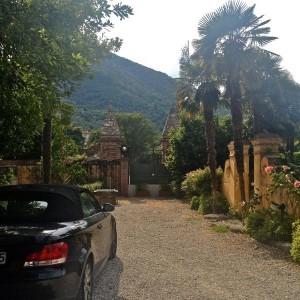 Garten La Villa Perla bei Lucca
