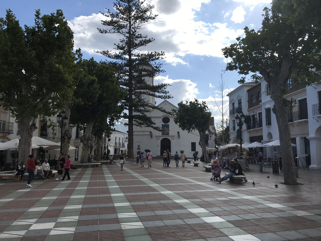 Nerja an der Costa del Sol in Andalusien