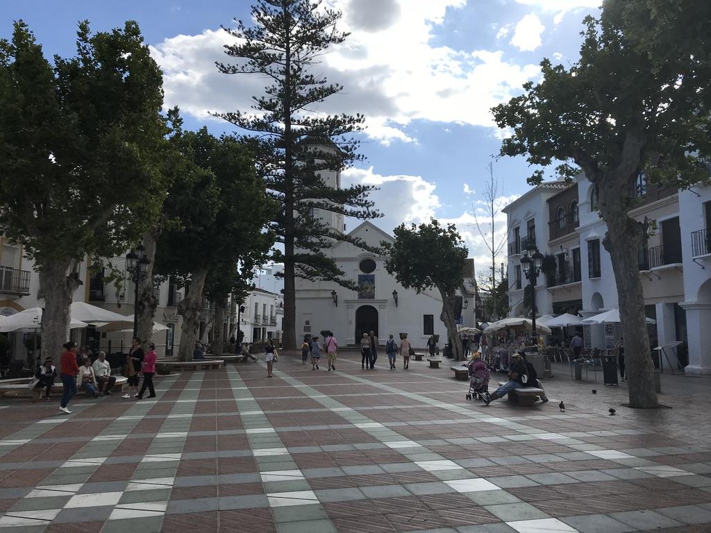 Nerja an der Costa del Sol in Andalusien