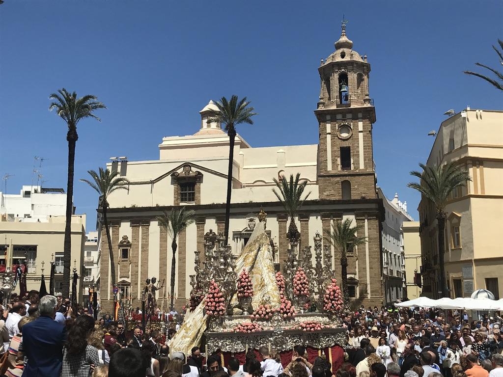 Fronleichnam in Cadiz