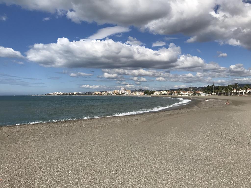 Am Strand von Torre del Mar bei Malaga