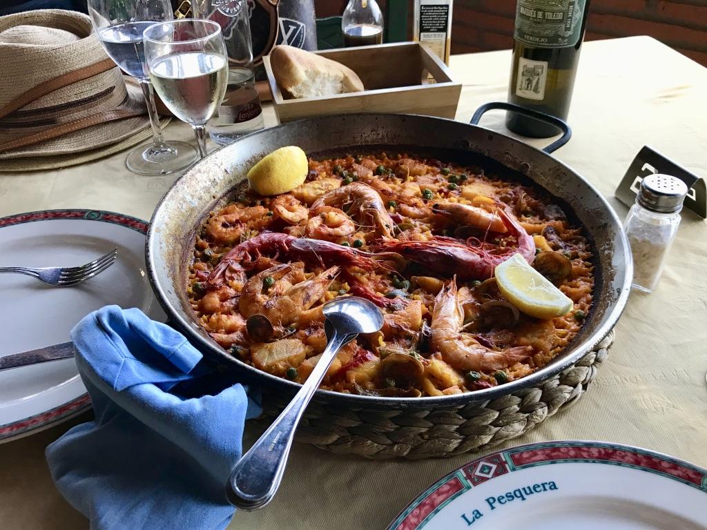 Paella in Marbella