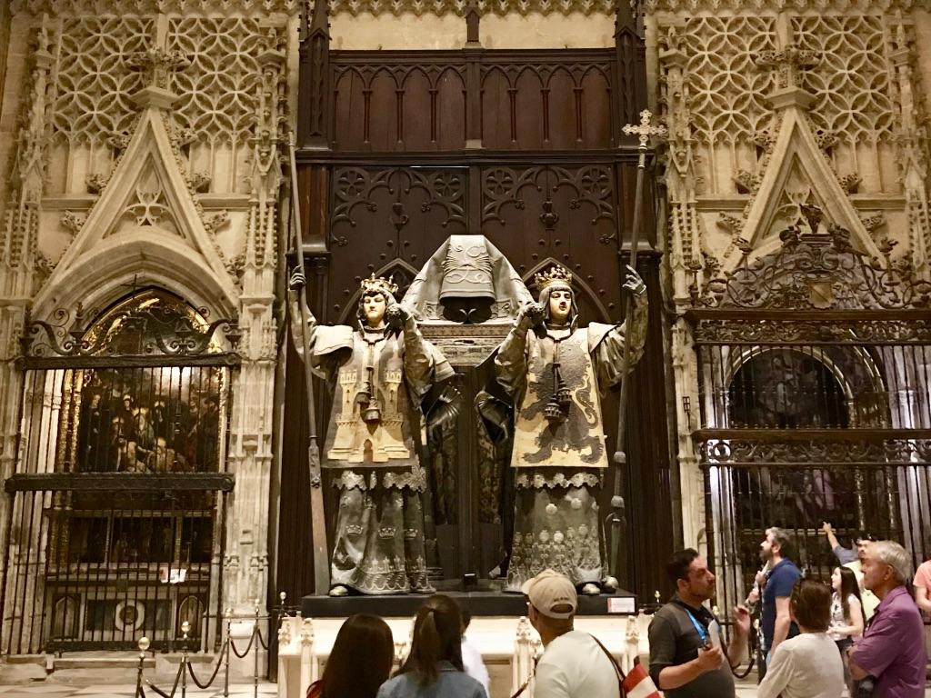 Kolumbus Grabmahl in der Kathedrale von Sevilla